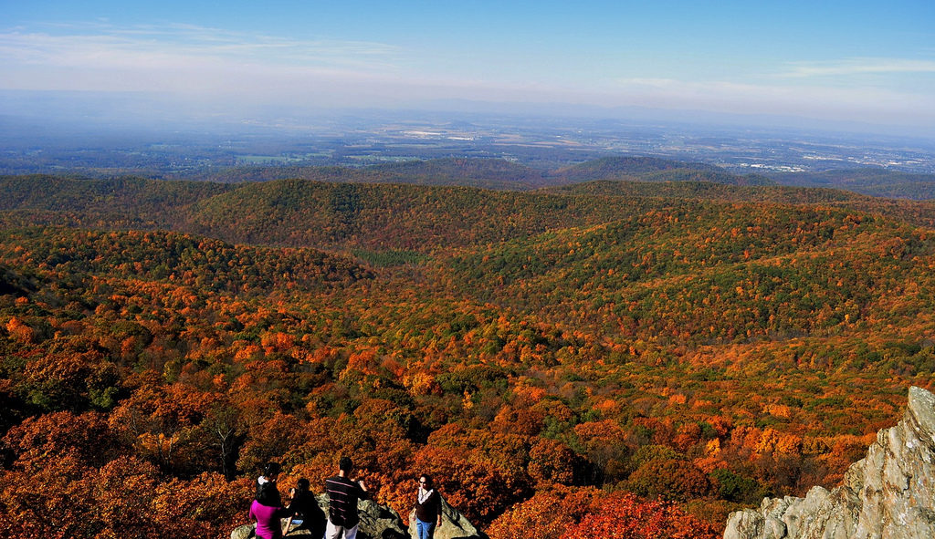 guide to fall colors - humpback rocks