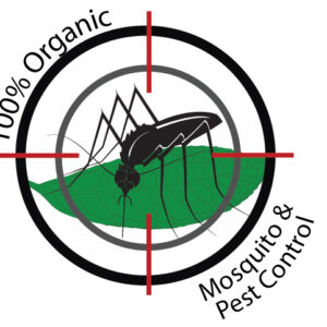 100% Organic mosquito and pest control service by tree service experts logo