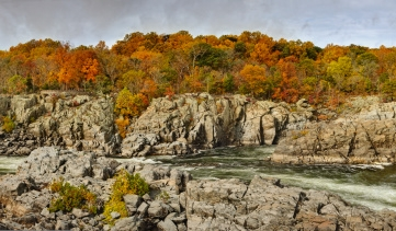 guide to fall colors - great falls park